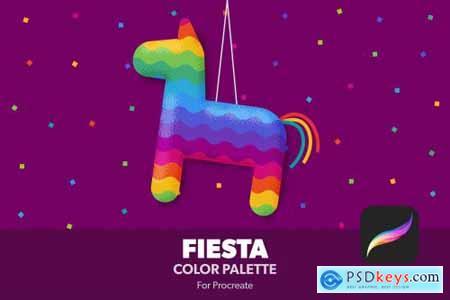 Fiesta Procreate Color Palette 4940523