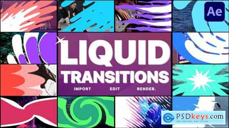 Liquid Transitions Pack 11 - After Effects 29201003