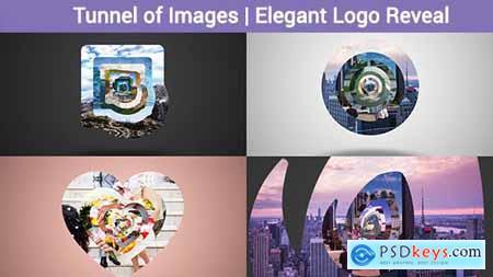 Tunnel of Images - Elegant Logo Reveal 17627515