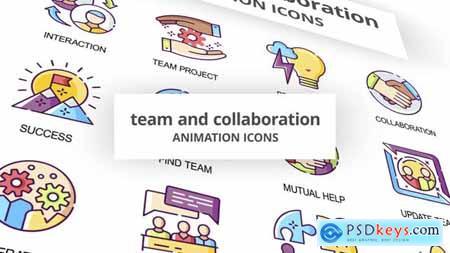 Team & Collaboration - Animation Icons 29201951