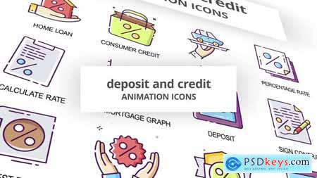 Deposit & Credit - Animation Icons 29201860