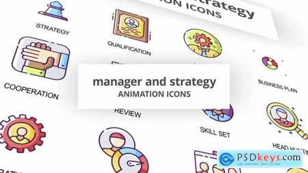 Manager & Strategy - Animation Icons 29201898