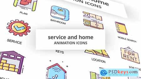 Service & Home - Animation Icons 29201928