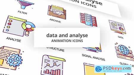 Data & Analyse - Animation Icons 29201842