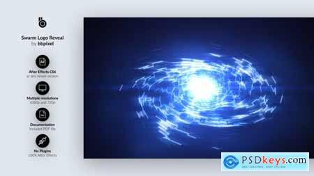 Swarm Logo Reveal 29070362