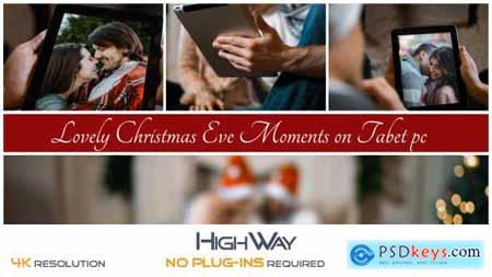 Lovely Christmas Eve Moments on Tablet PC 20936057