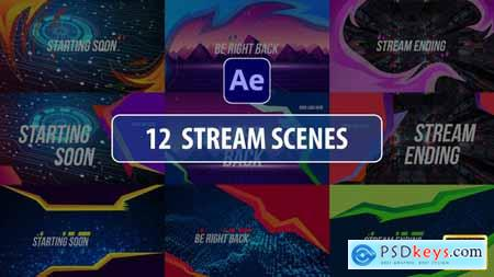Stream Scenes - After Effects 29301552