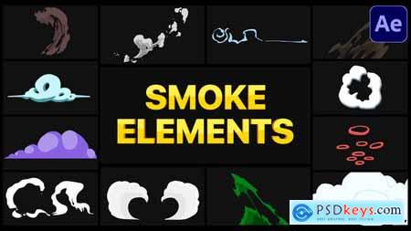Smoke Elements Pack - After Effects 29301467
