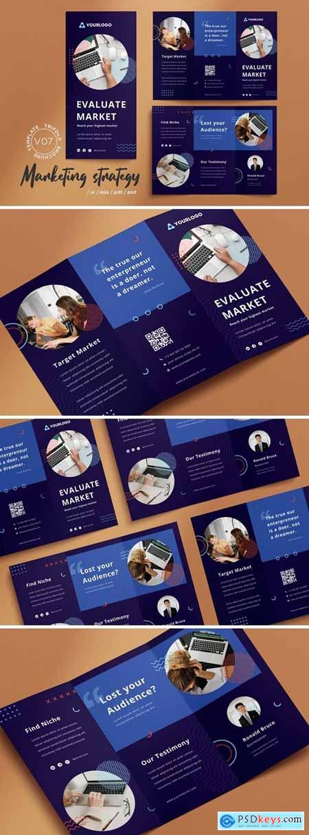 Trifold Brochure Vol.07 Marketing Strategy