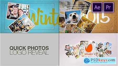 Quick Photos Photographer Logo Reveal - 29169646