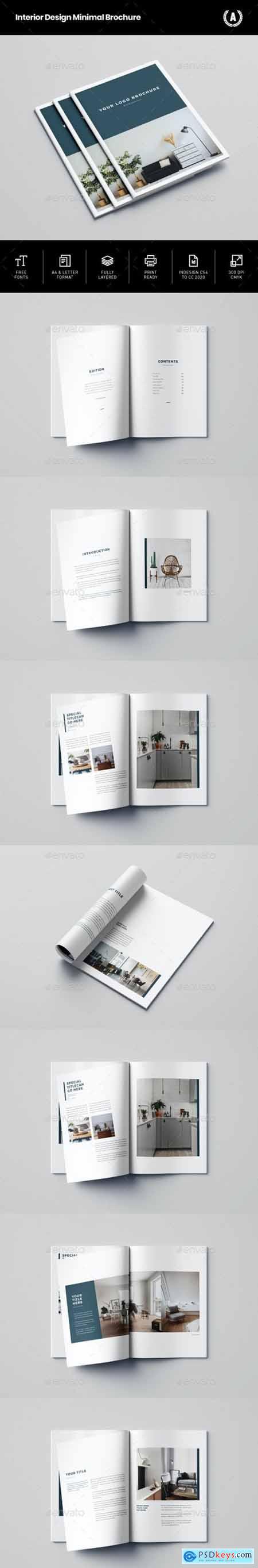Interior Design Minimal Brochure 29057573