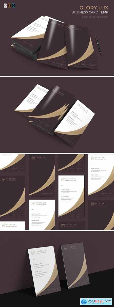 Glory Lux - Business Card