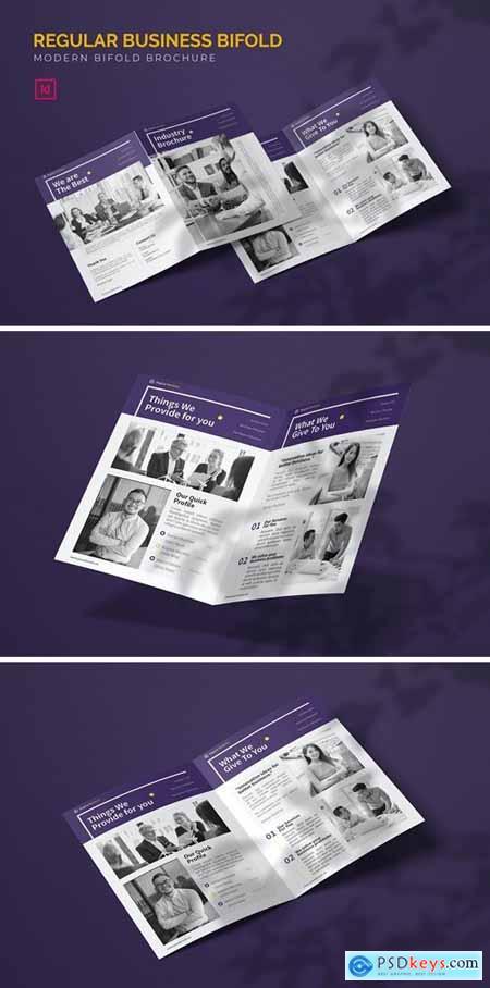 Regular Business - Bifold Brochure