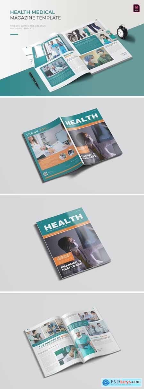Health Medical - Magazine Template