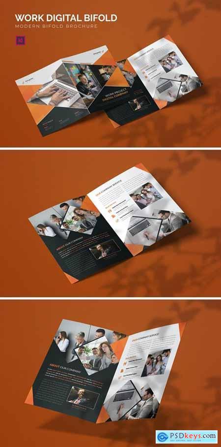 Work Digital - Bifold Brochure