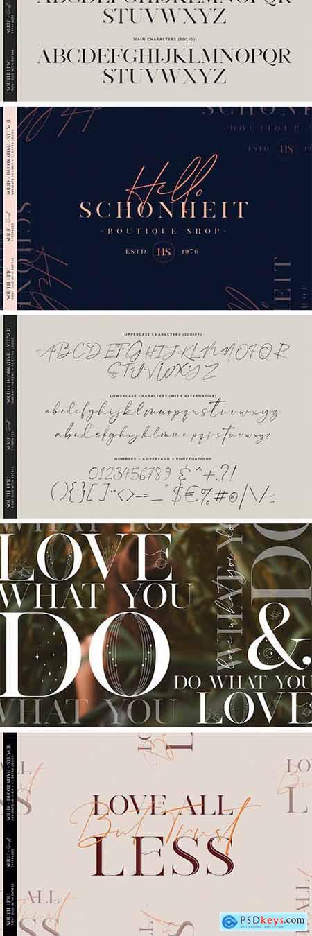 South Epic Dream Font Duo + Logos 4434776