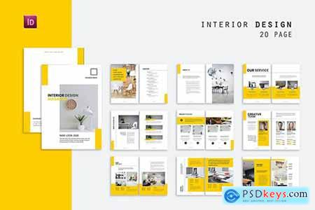 Minimalis Interior Design Brochure
