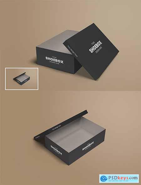 Shoe Box Mockup Vol 02