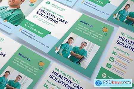 Medical A5 flyer