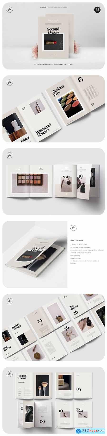 Second Product Design Catalog