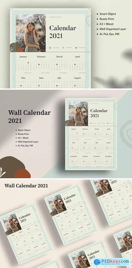 Wall Calendar 2021 N8YXEES