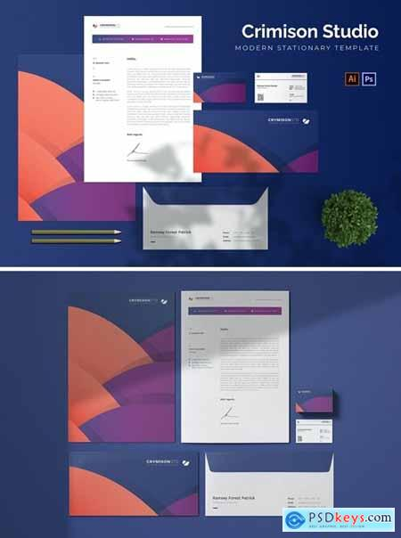 Crimison Studio - Stationary