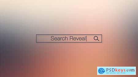 Search Bar Logo Reveal 15181202
