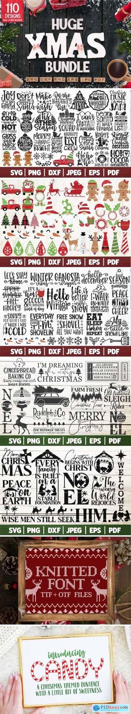 Huge Christmas Bundle SVG 6527941