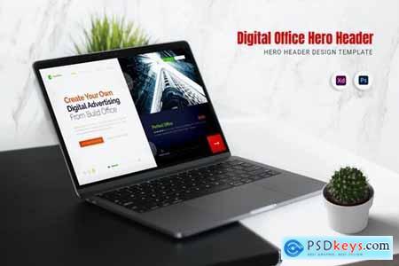 Digital Office Hero Header