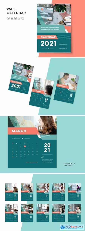 Wall Calendar 2021 QK7RAUZ