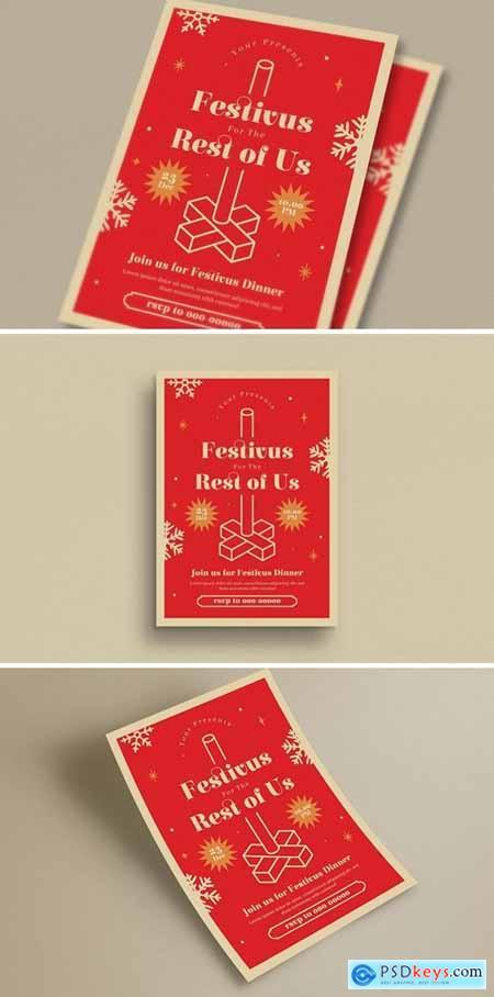 Festivus Event Flyer