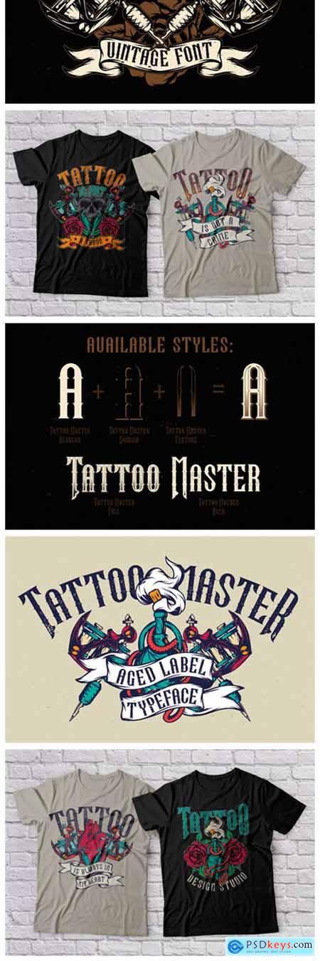 Tattoo Master Font