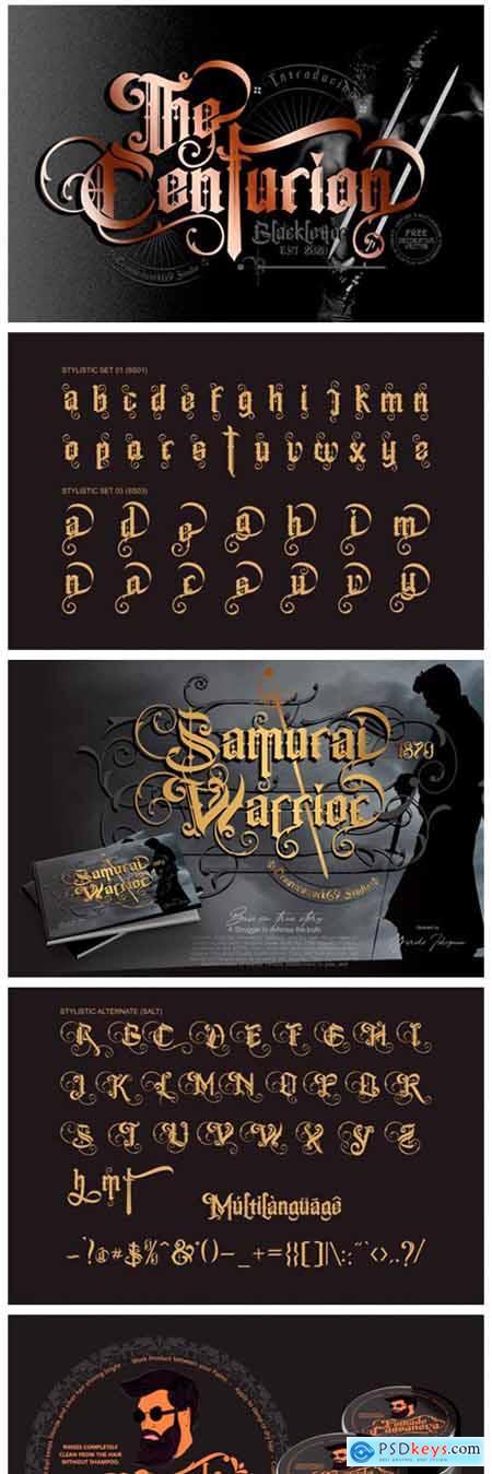 The Centurion Font