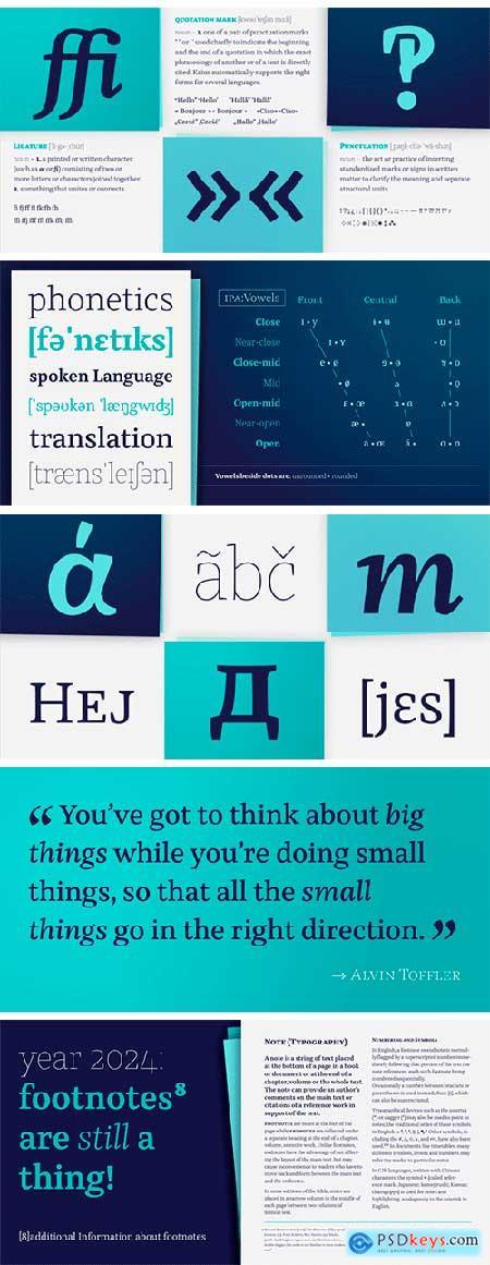 Kaius Pro Font Family