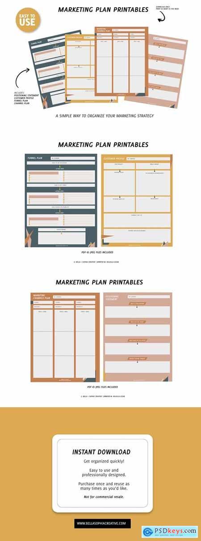 Printable Marketing Plan - Small 5033075