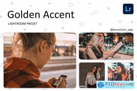 Golden Accent - Lightroom Presets 5220742