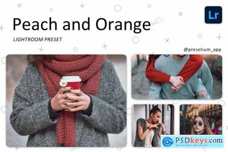 Peach & Orange - Lightroom Presets 5220739
