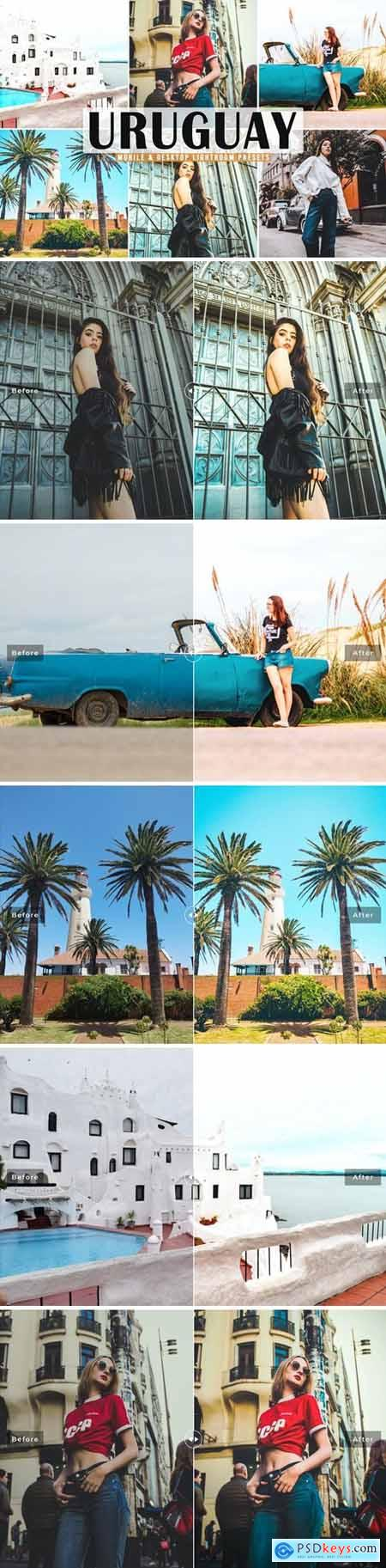 Uruguay Mobile & Desktop Lightroom Presets