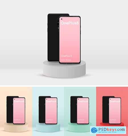 OnePlus 8 Mockup