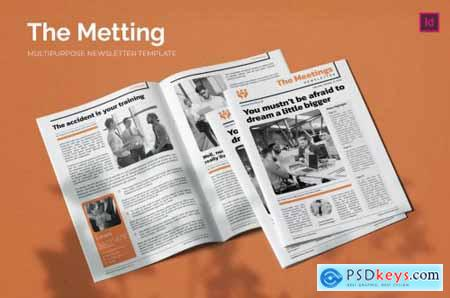 The Meeting - Newsletter Template