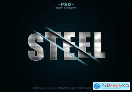 Sliced effects text template