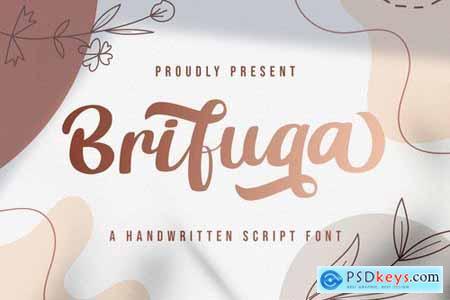 Brifuqa - Handwritten Font