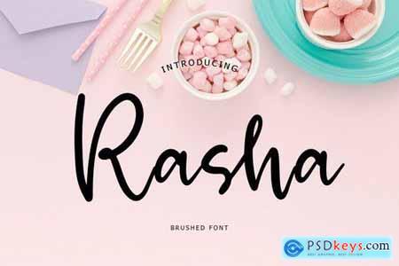 Rasha Brush Font 5417981