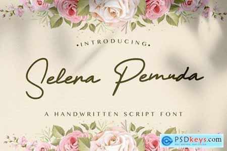 Selera Pemuda - Handwritten Font