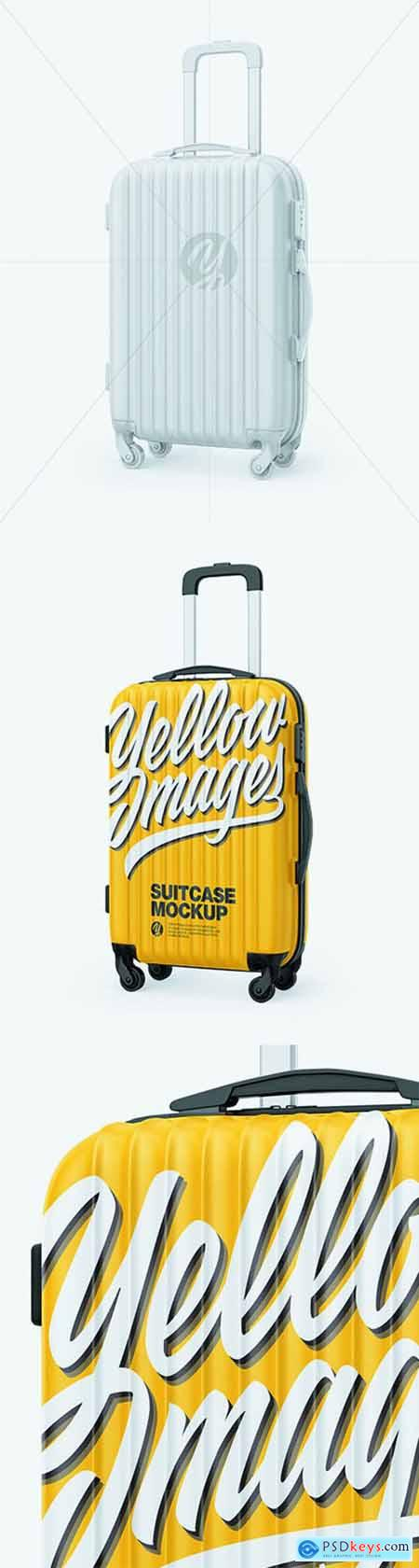 Travel Suitcase Mockup - Half Side View 68868