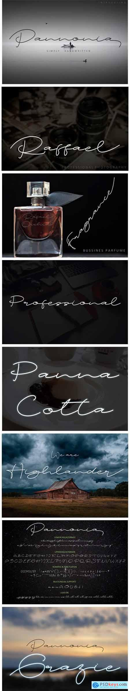 Pannonia Font