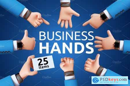 Business hands 5592384