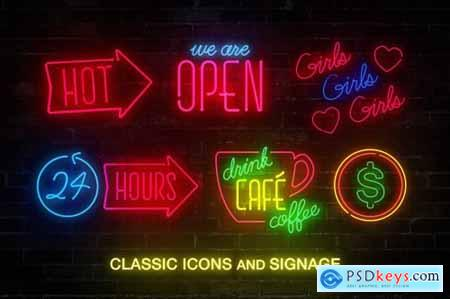 Neon Sign Collection- Volume One 4718662