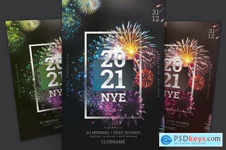 New Year Flyer WBR3LXM