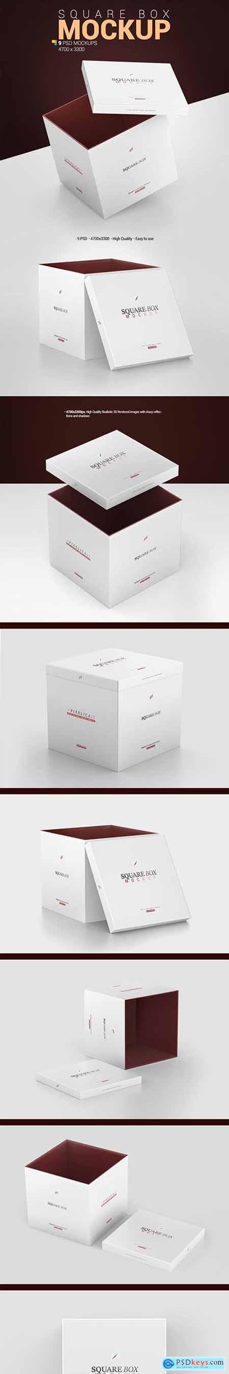 Square Box Mockup 29344142